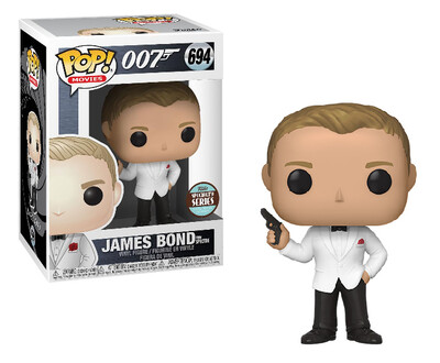 Pop ! Movies 694 - James Bond - Daniel Craig (Spectre) (Specialty Series Exclusive)