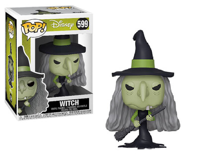 Pop ! Disney 599 - Nightmare Before Christmas - Witch