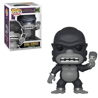 Pop ! Television 822 - The Simpsons - King Homer