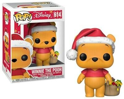 Pop ! Disney 614 - Holiday Winnie the Pooh