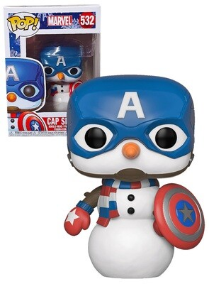 Pop ! Marvel 532 - Holiday Captain America