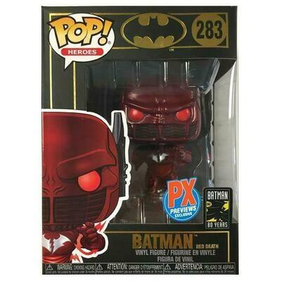 Pop ! Heroes 283 - Batman Dark Nights - Metal Red Death (Px Previews Exclusive)