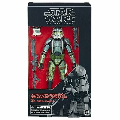 Star Wars - The Black Series 6'' RED - Commander Gree (Exclusive)