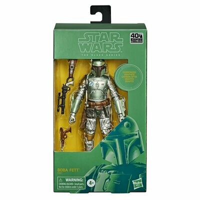 PREORDER 2020-09 Star Wars - The Black Series 6'' - Carbonized Boba Fett