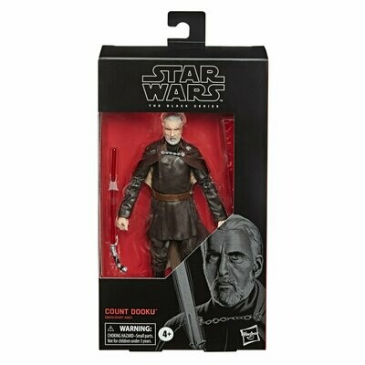 PREORDER 2020-08 Star Wars - The Black Series 6'' #107 - Count Dooku