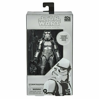 PREORDER 2020-09 Star Wars - The Black Series 6'' - Carbonized Stormtrooper