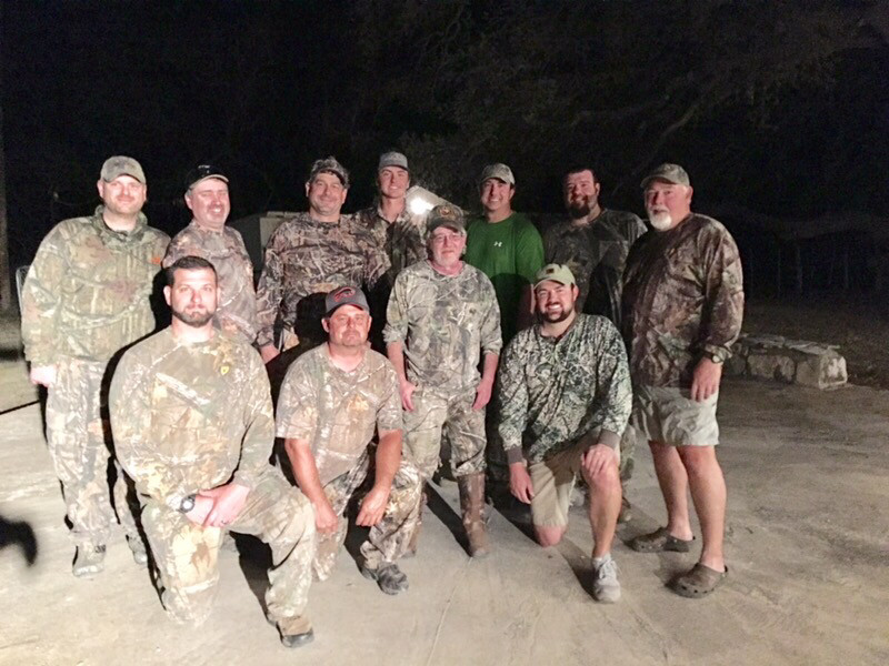 Men's Hunting Retreat 2 Day 2 Night With Meals and Lodging Included.