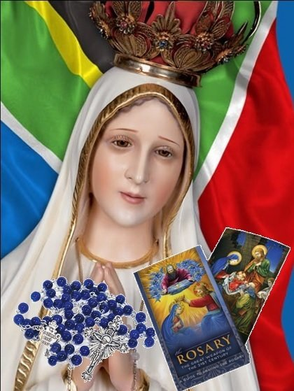 Special Centennial Rosary with Rosary Guide Booklet FP1701