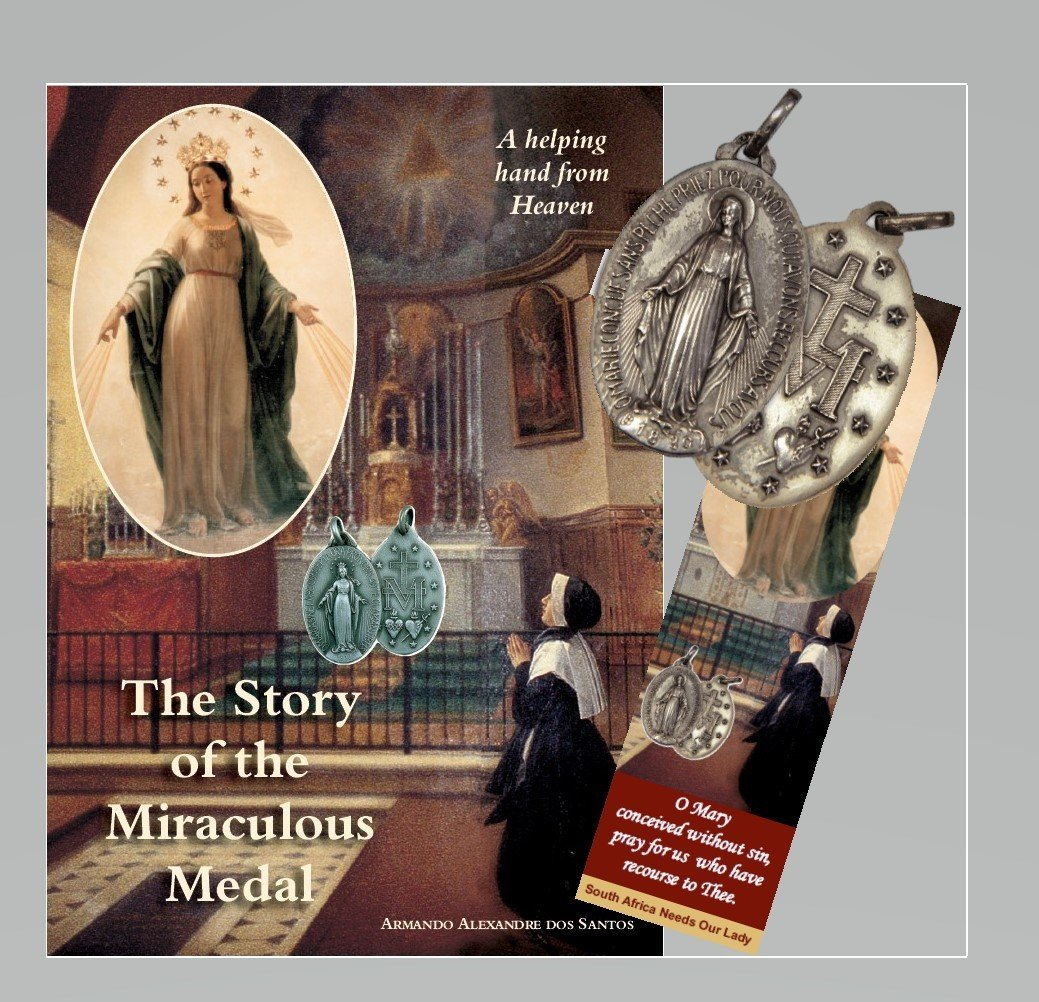 SPECIAL OFFER - The Story of the Miraculous Medal - with Free Medal and Bookmark MM3