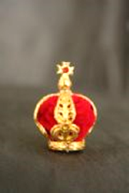Crown for Our Lady of Fatima Statue F25cm S3
