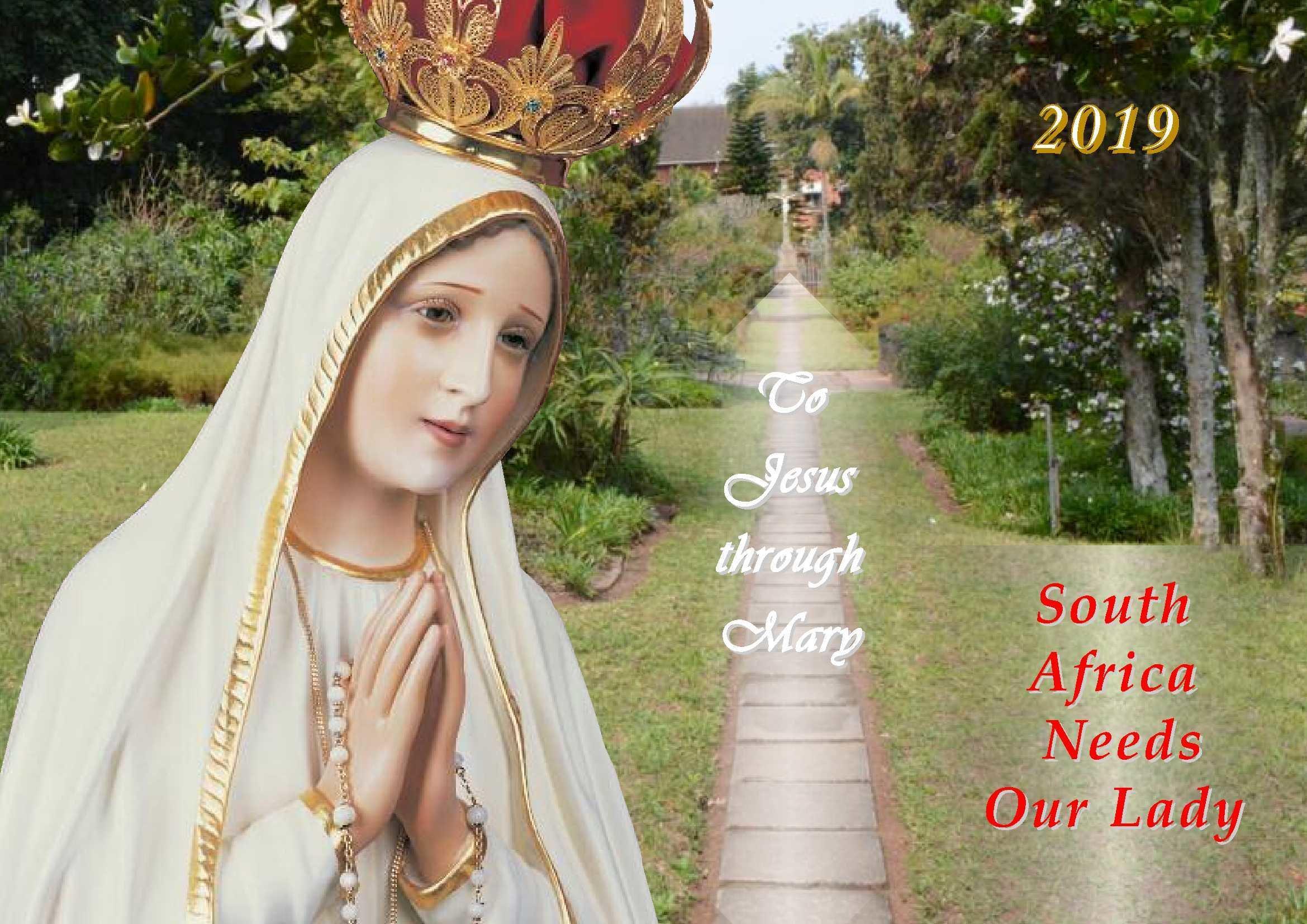 2019 Marian Calendar FR19
