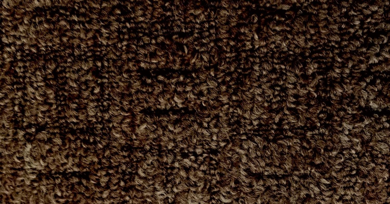 moquette bouclée structurée chocolat