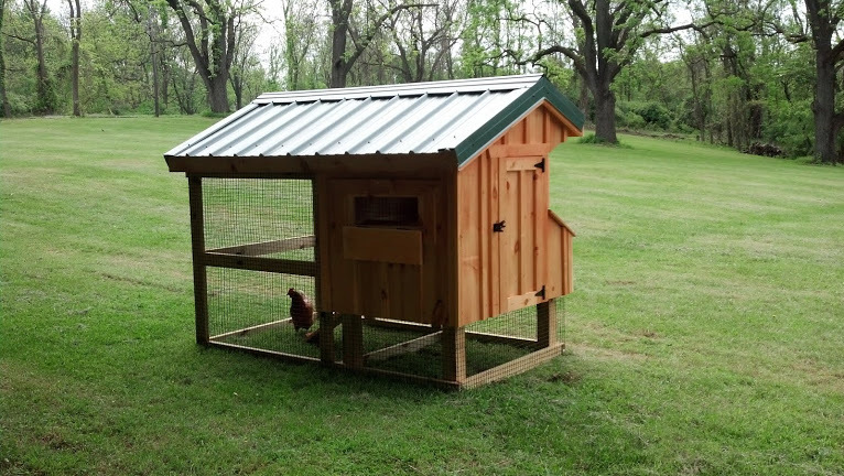 Quaker Coop 4x7 with run