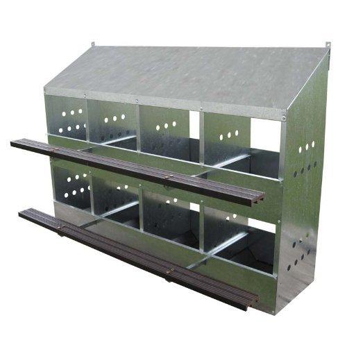 8-Hole Chick-Inn Laying Nest - 32 Hens 8holebox