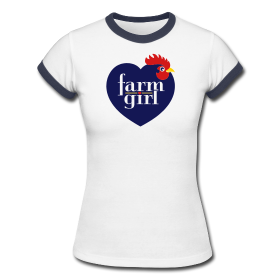 Farm Girl (Navy) shirt9