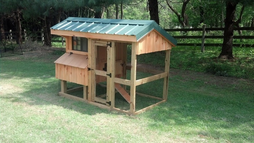 Quaker Coop 4x7 with run 11