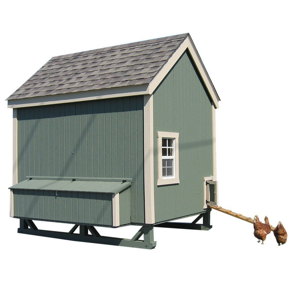 6x8 Colonial Gable Coop Kit lilcottage6x8gable