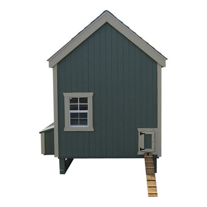 6x8 Colonial Gable Coop Kit