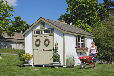 8x16 Williamsburg Colonial Shed