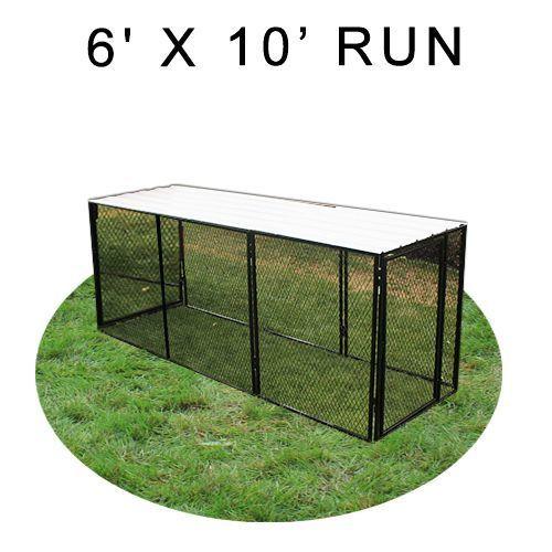 6 x 10 four sided Run 6x10run
