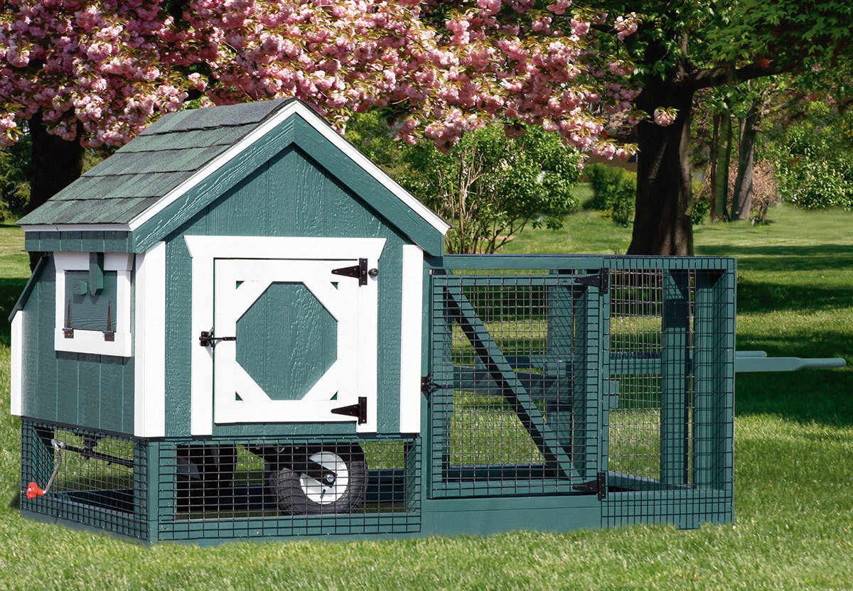 IHS A-Frame 3x3 Tractor Coop CC-IHS-A33T