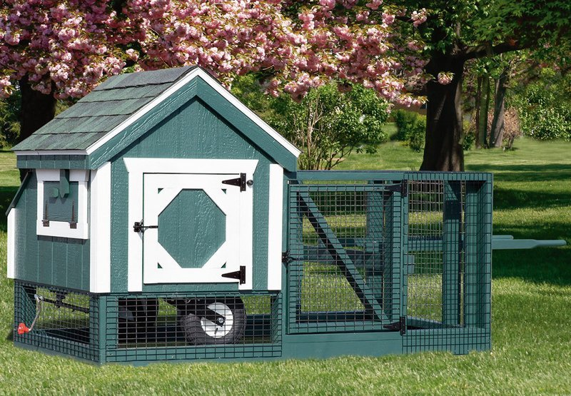 IHS A-Frame 3x3 Tractor Coop