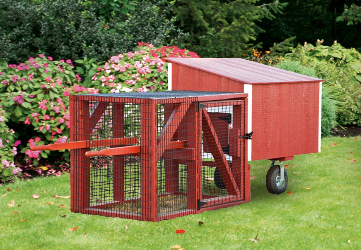 IHS Lean-To 3x4 Tractor Coop CC-IHS-L34T