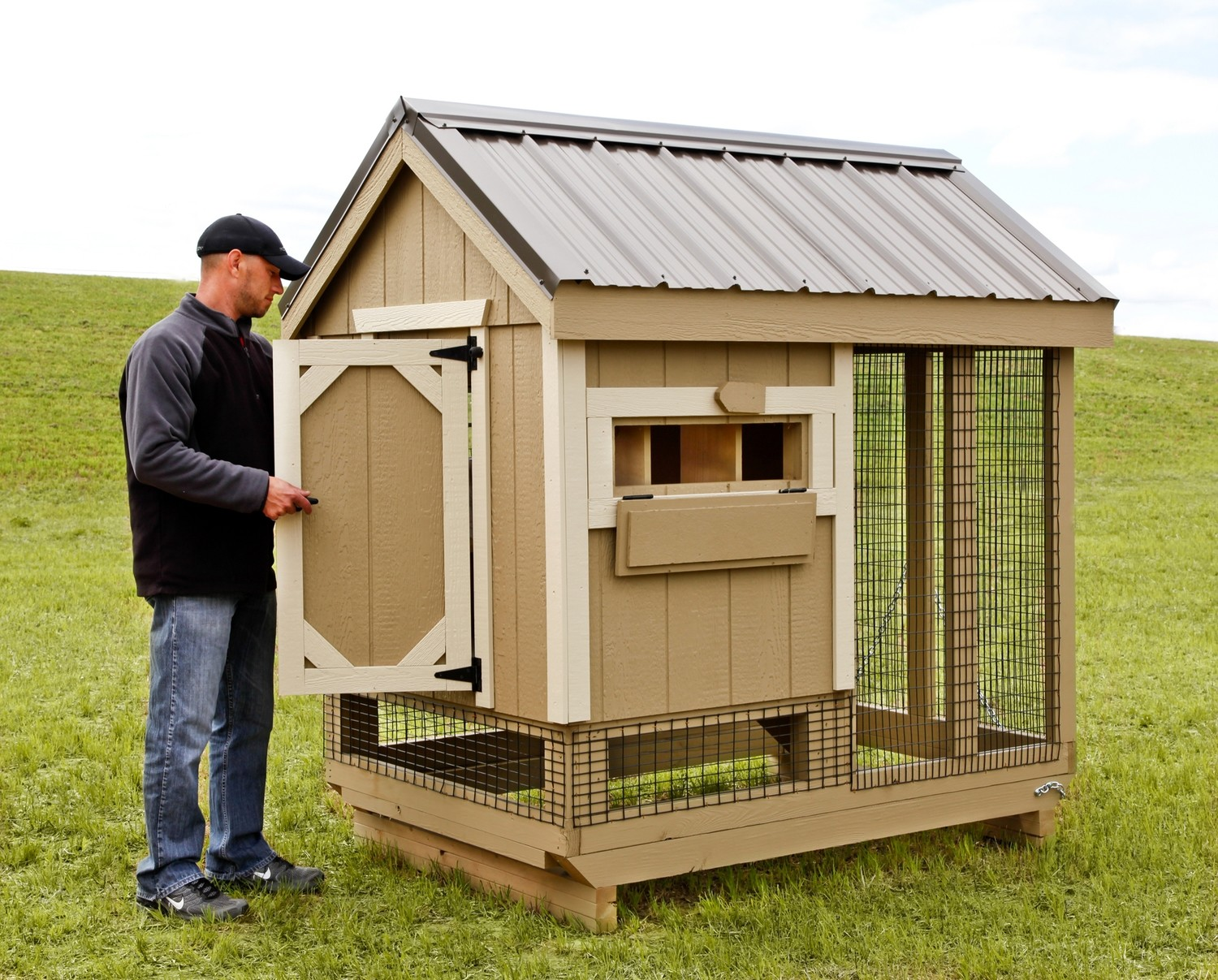 Ihs A Frame 4x6 Combo Store Large Chicken Coops