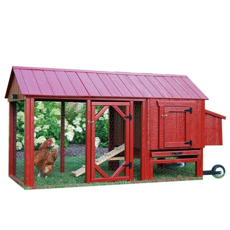 ATL Chicken Tractor Coop Kit with Run
