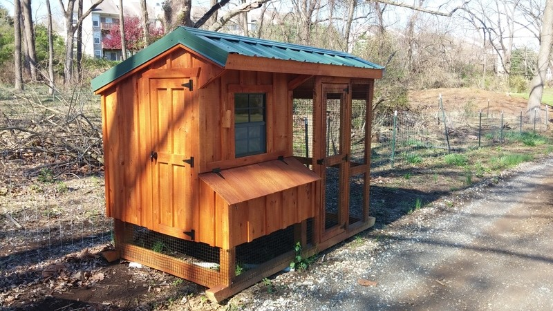 Quaker Coop 5x8 with run