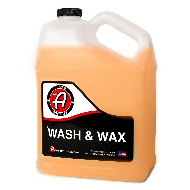 АВТОШАМПУНЬ С ВОСКОМ,3,7л. / Adam's Wash & Wax Gallon