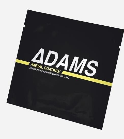 КЕРАМИЧЕСКОЕ ПОКРЫТИЕ ДЛЯ МЕТАЛЛА И ХРОМА, САЛФЕТКА / Adam's Ceramic Metal Coating Wipe