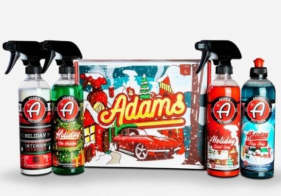 ПРАЗДНИЧНЫЙ НАБОР В КОРОБЕ,4 ПРОДУКТА х 473мл / Adam's Holiday Box Set