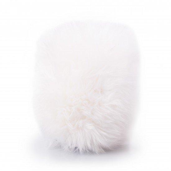 ВАРЕЖКА ДЛЯ МЫТЬЯ ИЗ ШЕРСТИ ОВЦЫ-МЕРИНОСА / Adam's NEW Great White Merino Wool Wash Mitt