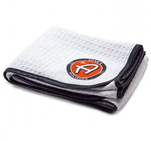 МИКРОФИБРА ДЛЯ СУШКИ ВОДОПОГЛОЩАЮЩАЯ, 60Х100см / Adam's Great White Microfiber Drying Towel