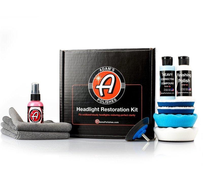 НАБОР ДЛЯ ПОЛИРОВКИ ФАР В КОРОБКЕ / Adam's Headlight Restoration Kit