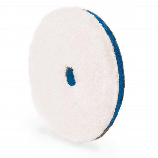 """ПОЛИРОВАЛЬНЫЙ ДИСК РЕЖУЩИЙ МИКРОФИБРОВЫЙ,СИНИЙ,130/150мм. / Adam's NEW Blue 5.5"""" Microfiber Cutting Pad"""