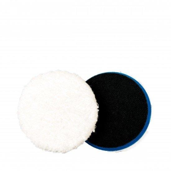 """ПОЛИРОВАЛЬНЫЙ ДИСК РЕЖУЩИЙ МИКРОФИБРОВЫЙ,СИНИЙ,80/100мм. (2шт/уп) / Adam's NEW Blue 4"""" Microfiber Cutting Pad (2Pack)"""