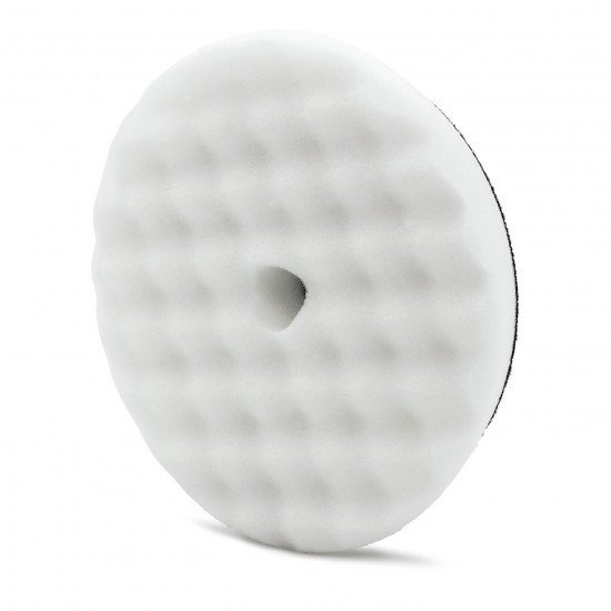"""ПОЛИРОВАЛЬНЫЙ ДИСК, МЯГКИЙ,БЕЛЫЙ,130/150мм. / Adam's 5.5"""" White Foam Pad"""