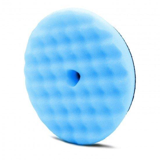 """ПОЛИРОВАЛЬНЫЙ ДИСК, ЖЕСТКИЙ,СИНИЙ , 130/150мм. / Adam's NEW 5.5"""" Blue Foam Cutting Pad"""