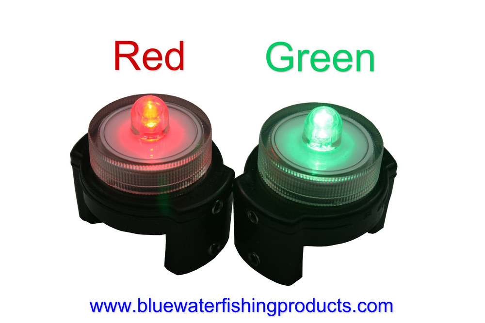 Planer Board LED Lights (Qty 2) Twist On/Off FREE SHIPPING