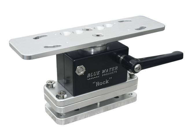 "Blue Water ""ROCK"" Electronics Mount 3.5"" Tall Direct Mount w/ backing plate (FREE SHIPPING)"