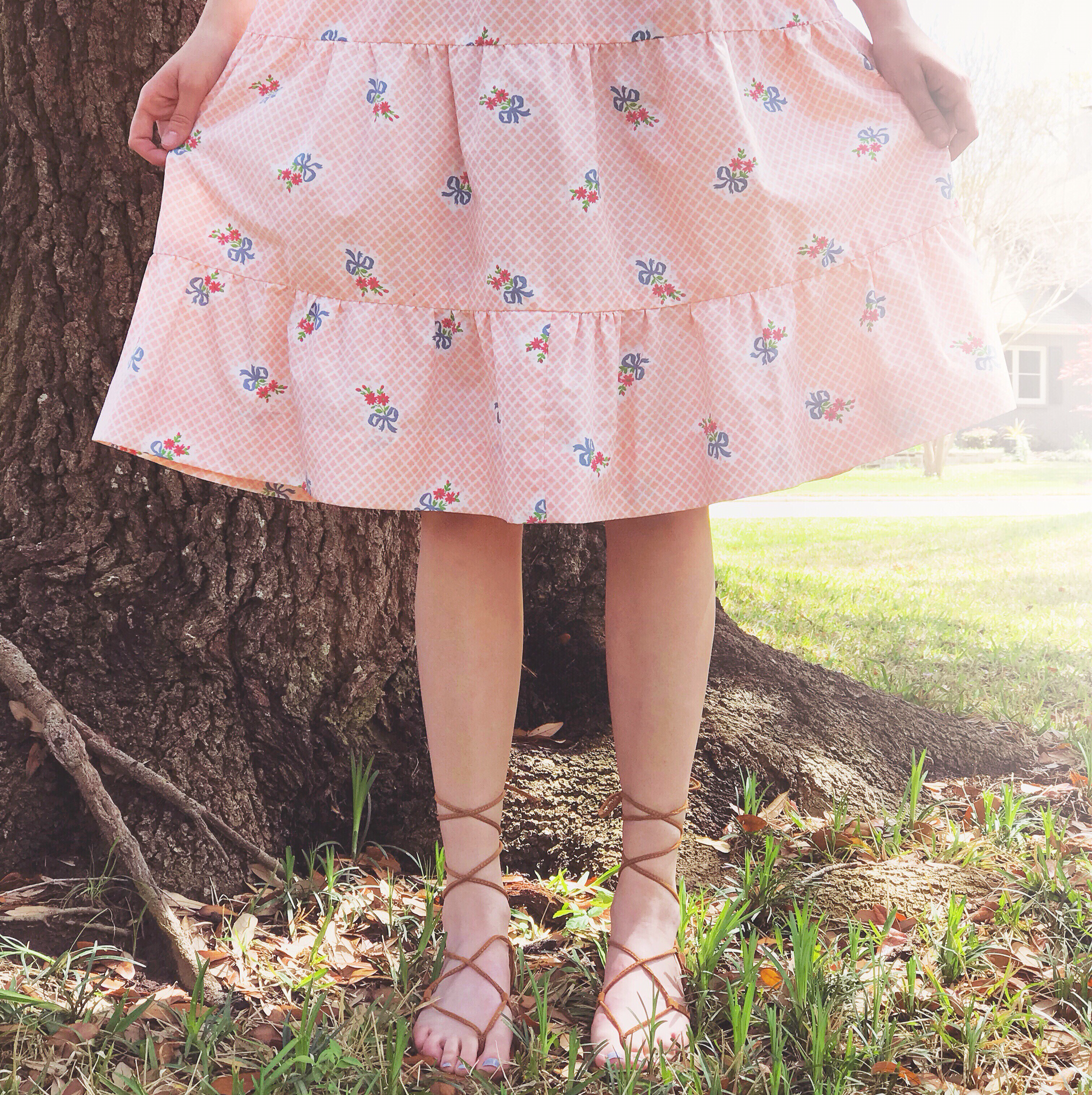 1960s Bows & Flowers Sundress