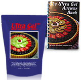 16 oz Ultra Gel with Ultra Gel Answer Book--Free Shipping!! 00013