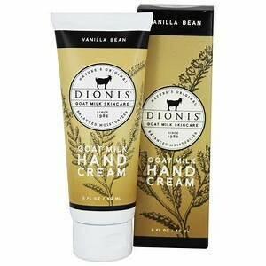 Vanilla Bean Hand Cream Dionis