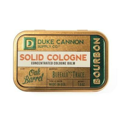 Oak Barrel Bourbon Solid Cologne