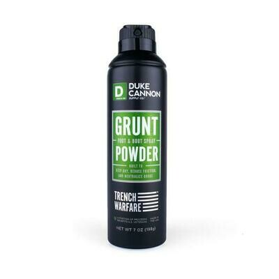 Grunt Powder Foot & Body Powder Spray