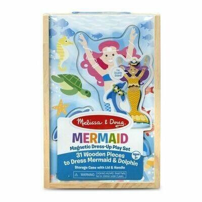 Mermaid Magnetic Dress Up  Play Set