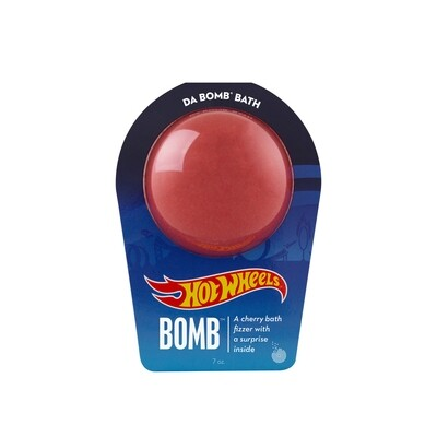 Hot Wheels Bath Bomb Red-DA BOMB