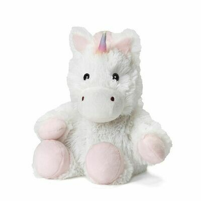 Warmies Cozy Plush Jr. White Unicorn
